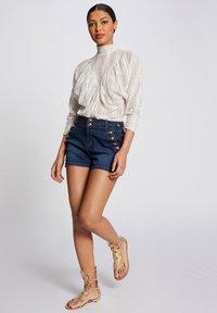 Morgan - Denim shorts - blue denim - 1