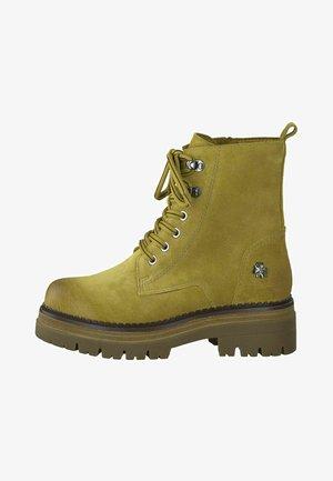 BY GUIDO MARIA KRETSCHMER - Platform ankle boots - mustard