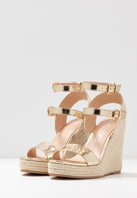 Even&Odd - Sandaler med høye hæler - gold - 4