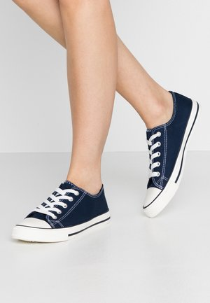 WIDE FIT ICON  - Baskets basses - navy
