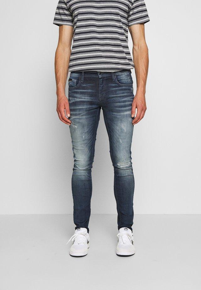 OZZY  - Slim fit jeans - blu denim