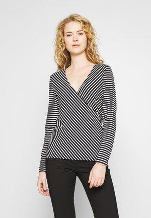 SUKINA - Long sleeved top - black