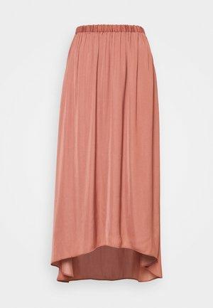 TANDRA - A-line skirt - cedar wood