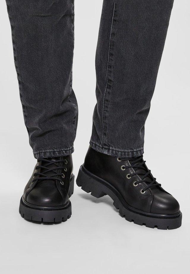 SLFEMMA  - Platform ankle boots - black