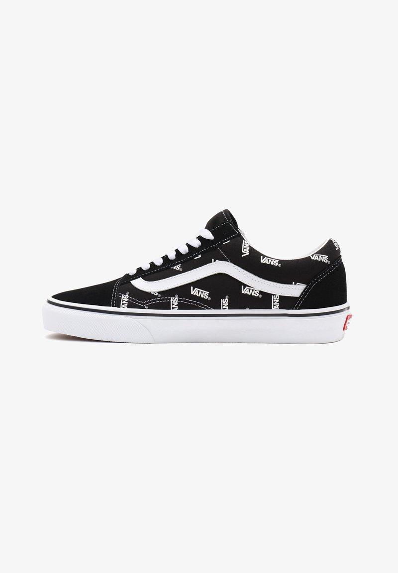 Vans - UA OLD SKOOL - Trainers - black/true white