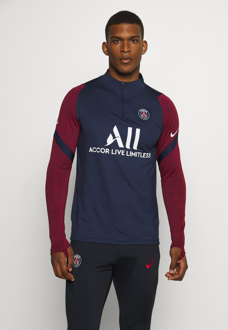Nike Performance - PARIS ST GERMAIN DRY DRILL - Club wear - midnight navy/white
