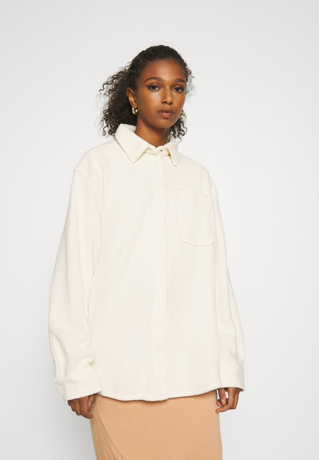 BESS - Button-down blouse - off white/beige