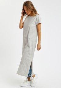 Kaffe - KACELINA - Maxi dress - light grey melange - 0