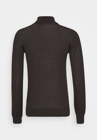 Johnstons of Elgin - MARIA ROLL NECK - Jumper - dark chocolate - 1