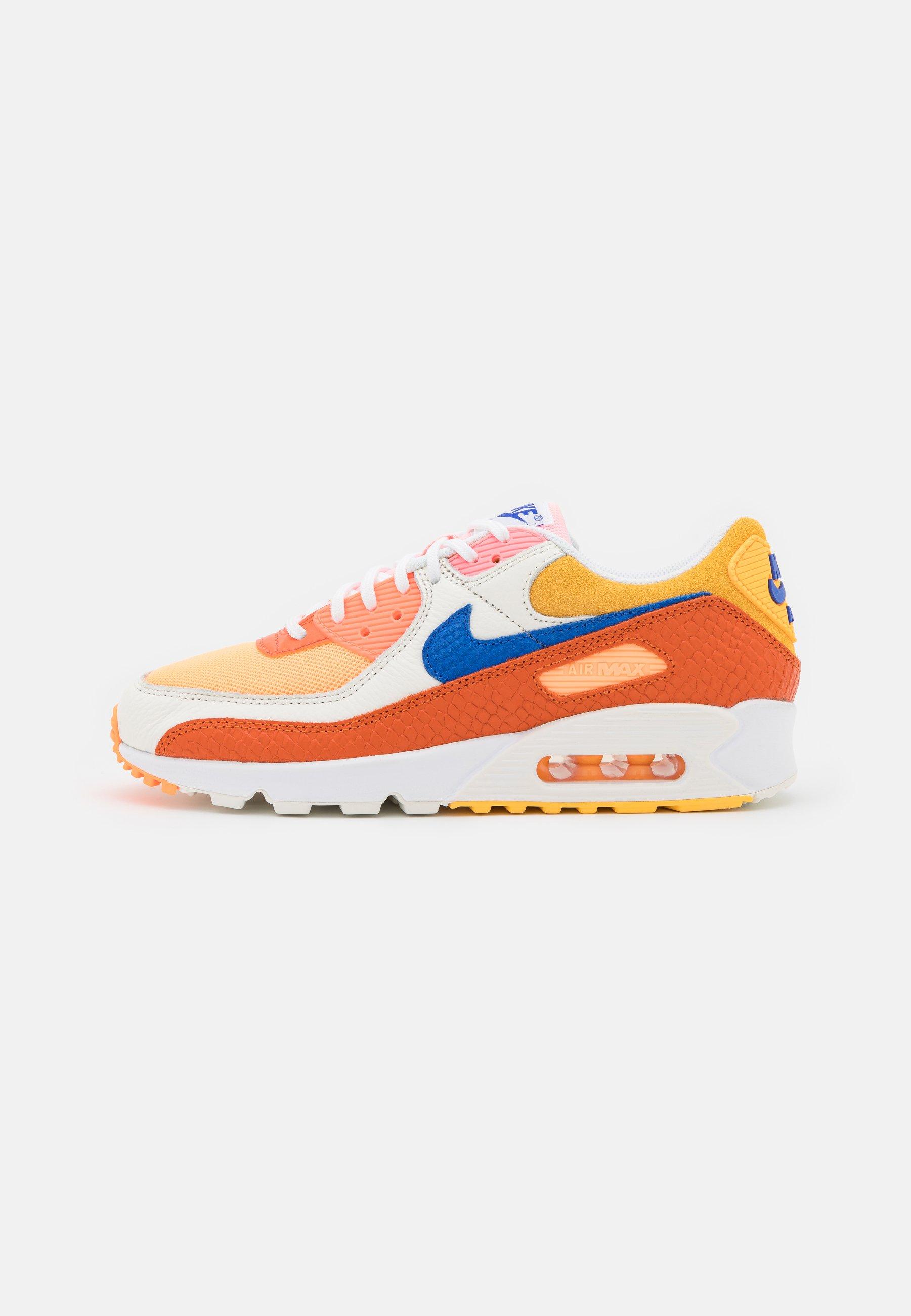 AIR MAX 90 - Sneakers basse - campfire orange/racer blue/sail/laser orange/citron pulse/peach cream