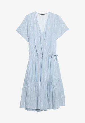 LING - Vestido informal - dusty silver blue