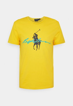 T-shirt con stampa - yellowfin
