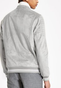 River Island - Faux leather jacket - grey - 2
