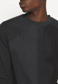 Jack & Jones - JCODENNIS CREW NECK - Sweatshirt - black - 4