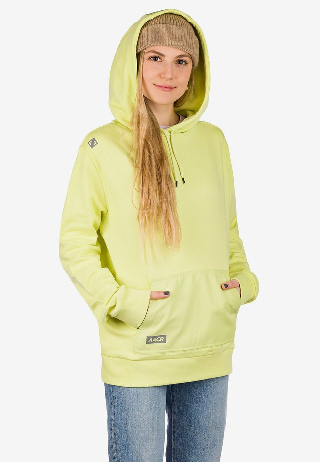 Sweatshirt - fadded lime