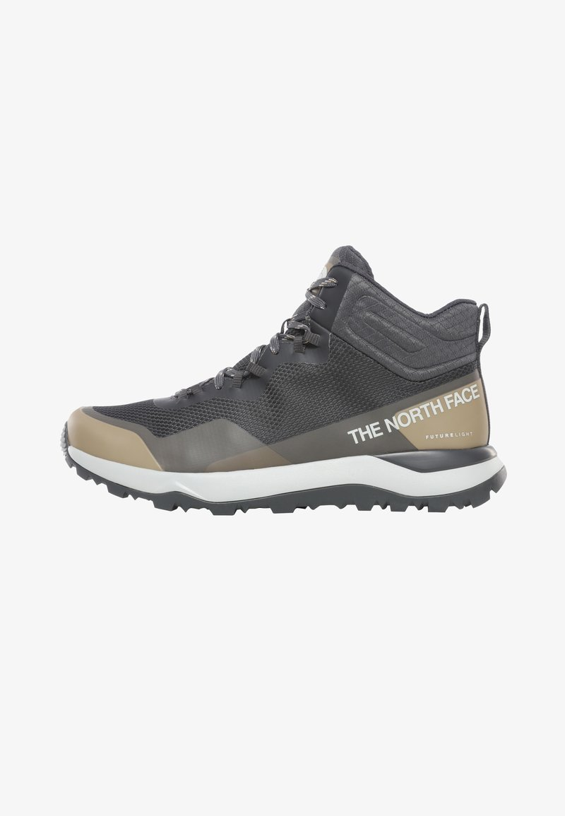 The North Face - M ACTIVIST MID FUTURELIGHT - Hiking shoes - asphalt grey/moab khaki