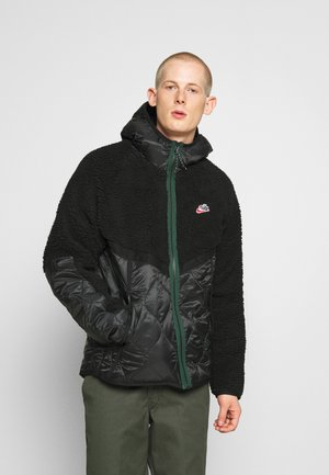 WINTER - Veste d'hiver - black/pro green
