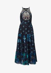 Desigual - DESIGNED BY M. CHRISTIAN LACROIX: - Sukienka letnia - black - 5