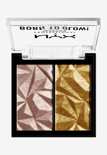 BORN TO GLOW ICY HIGHLIGHTER DUO - Highlighter - 05 rock candy