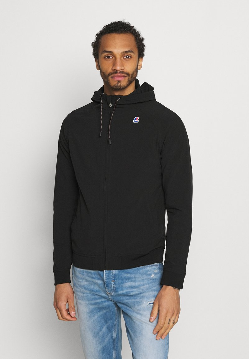 K-Way - RAINER FUNCTION UNISEX - Summer jacket - black pure