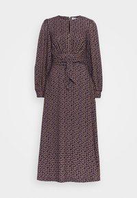 Closet - PUFF SLEEVE A-LINE DRESS - Day dress - purple - 4