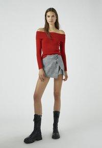 PULL&BEAR - Pullover - red - 1