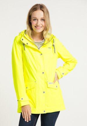 Waterproof jacket - neon gelb