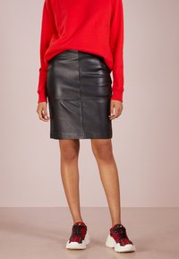 2nd Day - CECILIA - Pencil skirt - black - 0