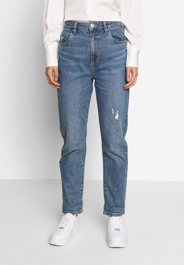 STRETCH MOM - Relaxed fit jeans - bronte blue