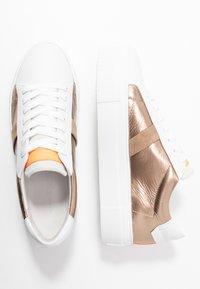 Kennel + Schmenger - BIG - Trainers - bianco/gold/neon orange - 3