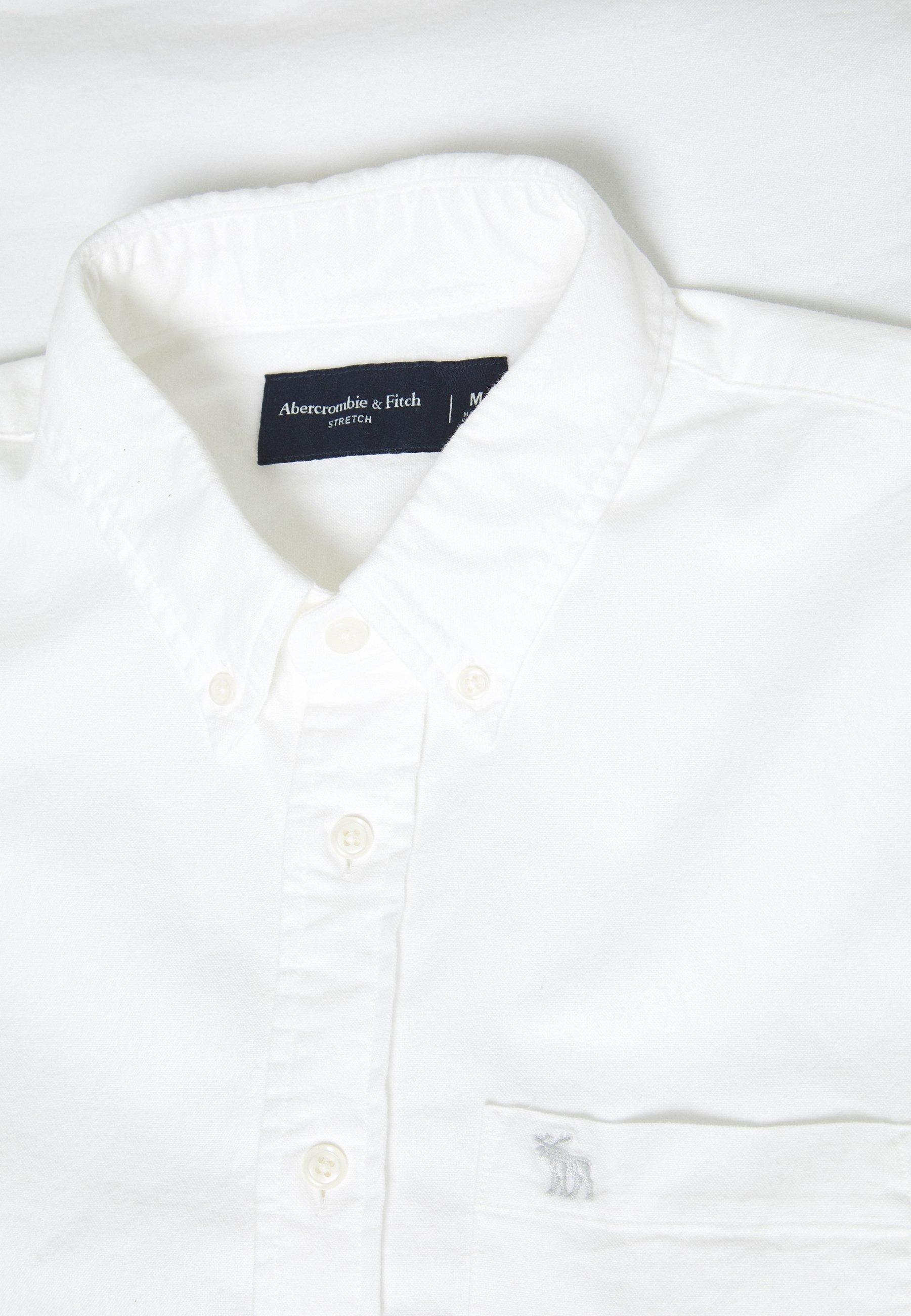 Abercrombie & Fitch ICON CORE OXFORD - Chemise - white