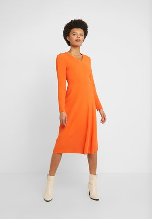 DHOTI - Day dress - tropical orange
