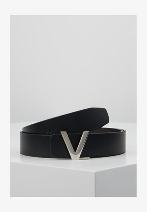 LOGO REVERSIBLE BELT - Riem - nero/moro