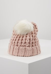 Abercrombie & Fitch - POM BEANIES - Muts - pink/white - 3