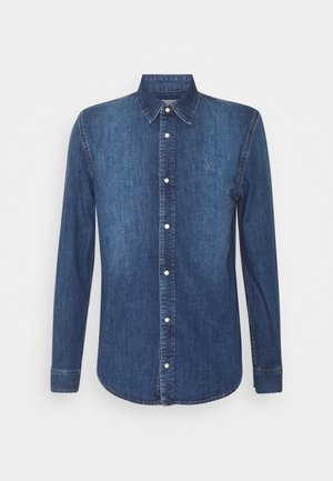 FOUNDATION  - Shirt - mid blue