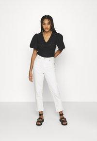 Trendyol - Basic T-shirt - black - 1