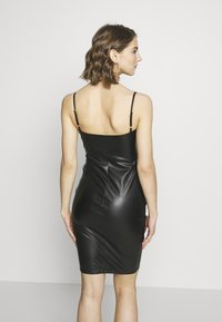 Nly by Nelly - BUSTIER DRESS - Sukienka koktajlowa - black - 2