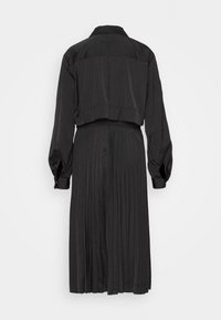 KARL LAGERFELD - TECHNICAL PLEATED - Trenchcoat - black - 1