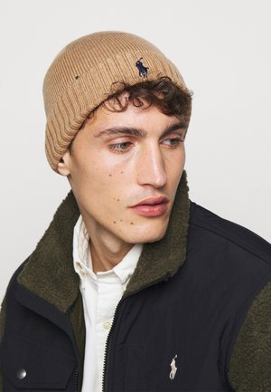 Beanie - brown heather