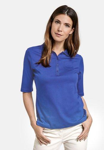 Polo shirt - lapislazuli