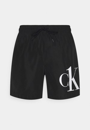 MEDIUM DRAWSTRING - Shorts da mare - black