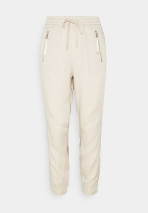 Tracksuit bottoms - light sand