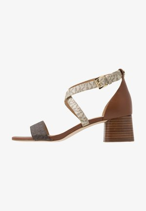 DIANE MID - Sandály - brown/multicolor
