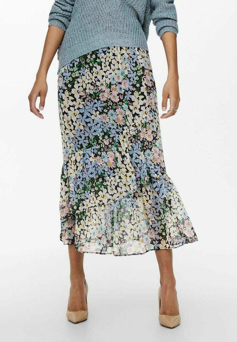 ONLY - A-line skirt - phantom