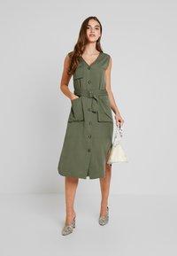 Moves - AURELI - Maxi dress - dusty green - 1