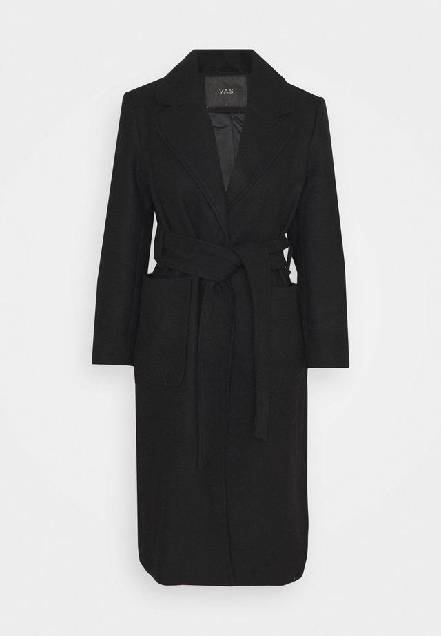 YASSTERA COAT - Classic coat - black