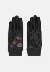 Desigual - GLOVES ASTORIA - Gloves - black - 0