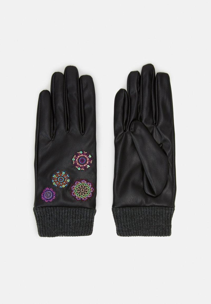 Desigual - GLOVES ASTORIA - Gloves - black