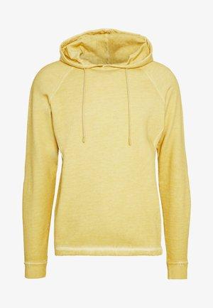 RIVET HOODIE - Hoodie - cold light gold