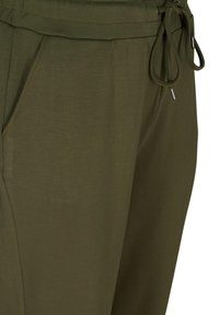 Zizzi - Tracksuit bottoms - ivy green - 3